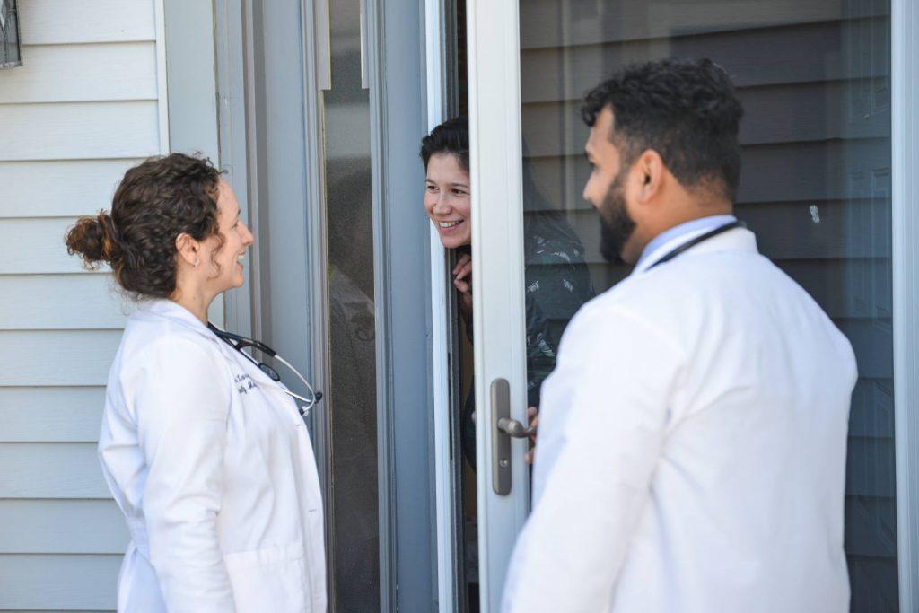 Garden State Street Medicine Doctors Visiting Patients